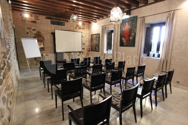 Salón Greco montaje teatro