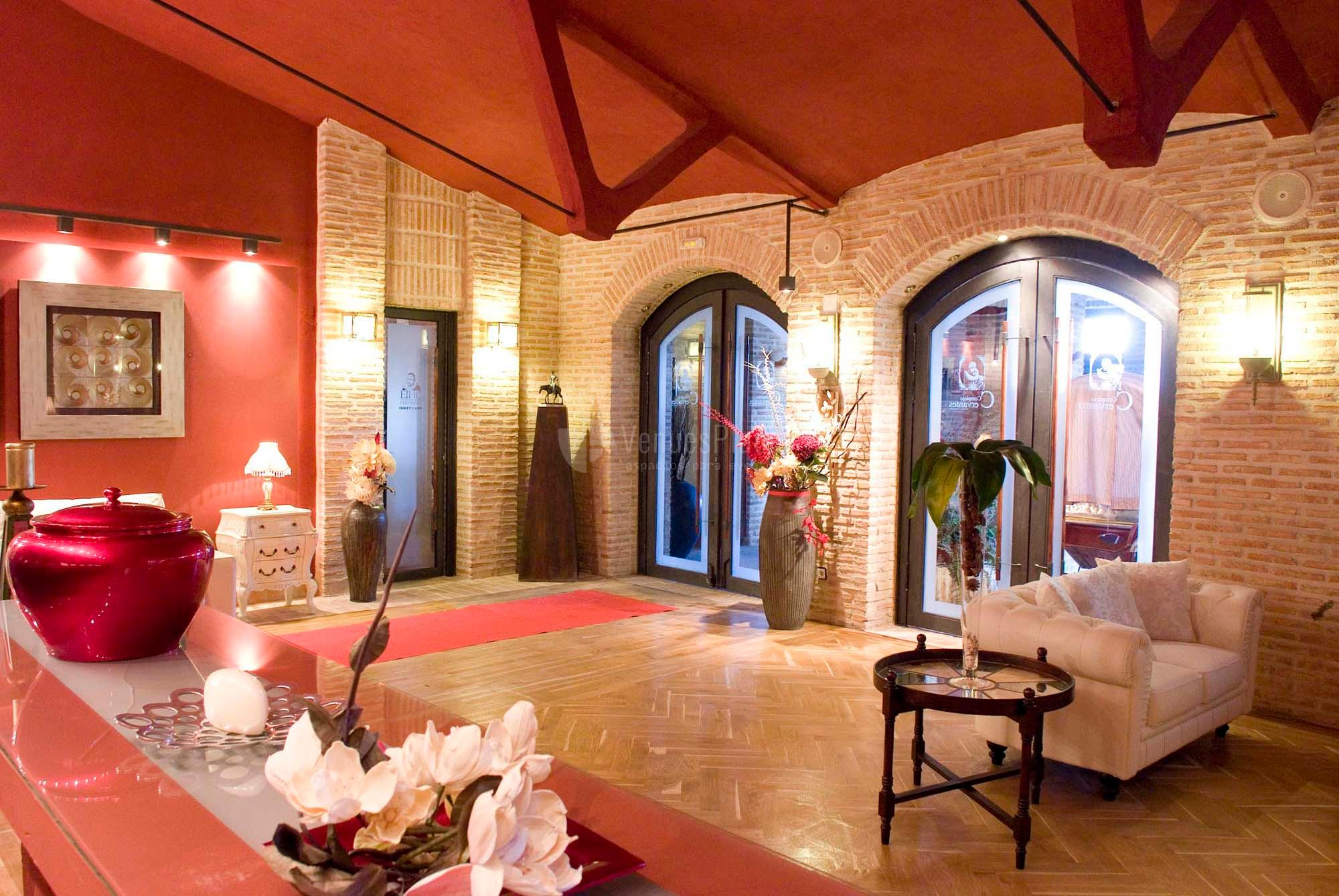 Interior para eventos en Complejo Cervantes