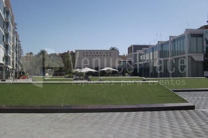 Foto exterior en Centro de Congresos de Elche