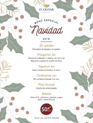 Menú de Navidad en Complejo el Olivar