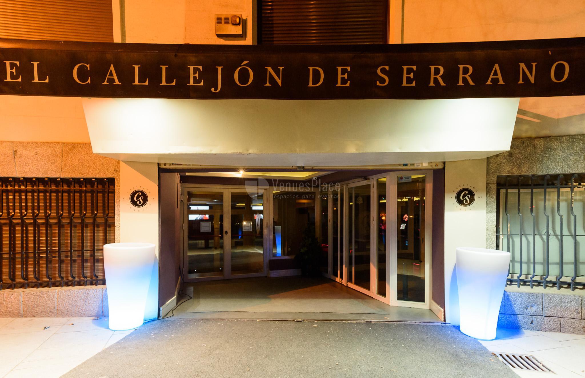 Eventos sociales en El Callejón de Serrano
