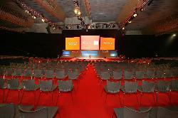 Foto sala de juntas en Palacio de Exposiciones de Santander