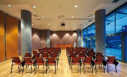 Sala B terraza montaje en teatro