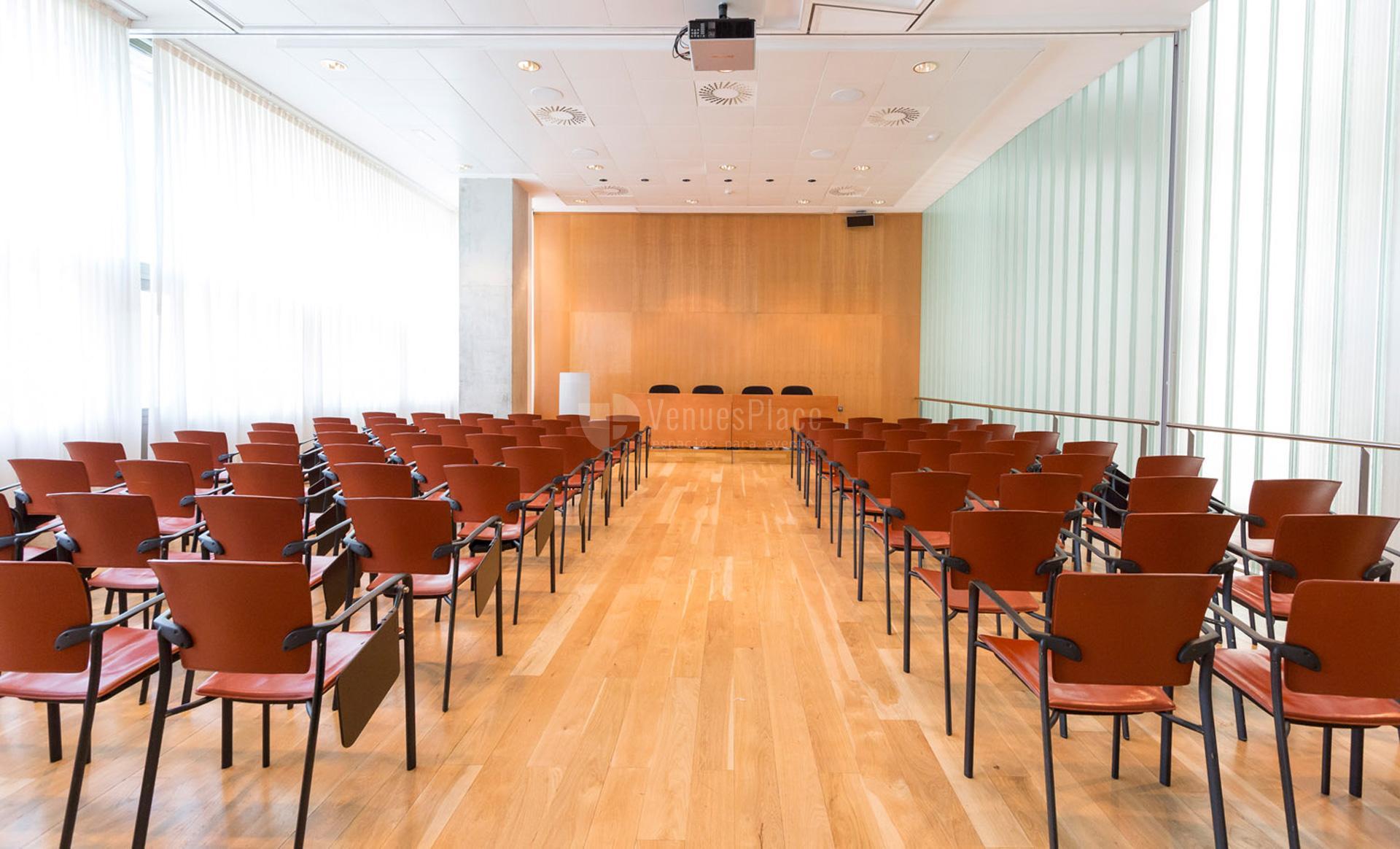 Interior Sala B1 en Palacio Euskalduna