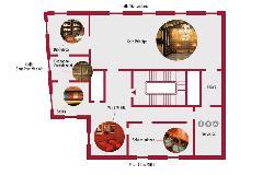 Plano en la Casa de la Seda