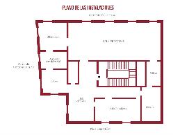 Plano Casa de la Seda