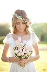 Coronas de flores para las novias de 2015