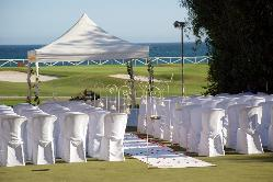 Montaje ceremonia civil al borde del mar Hotel Guadalmina Spa & Golf Resort  *****