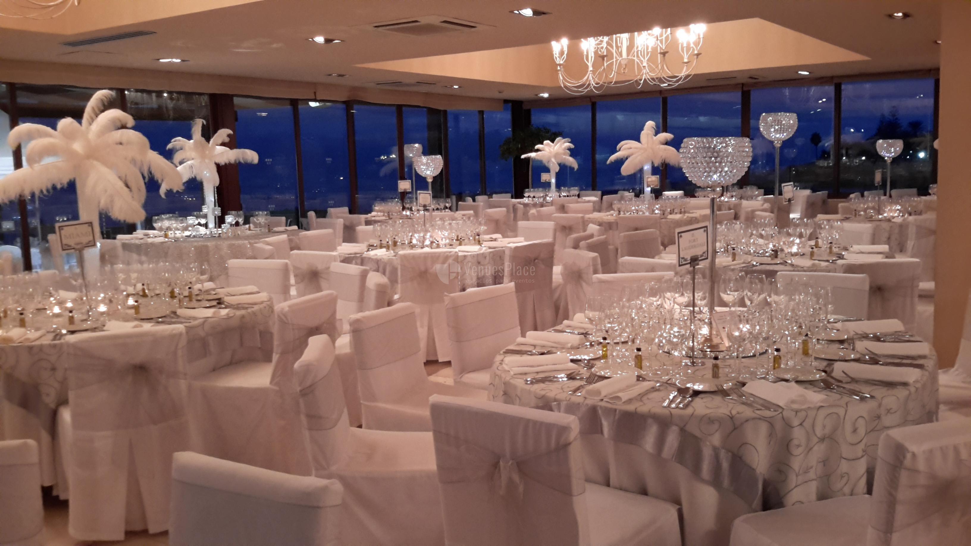 Montaje banquete nupcial Hotel Guadalmina Spa & Golf Resort  *****