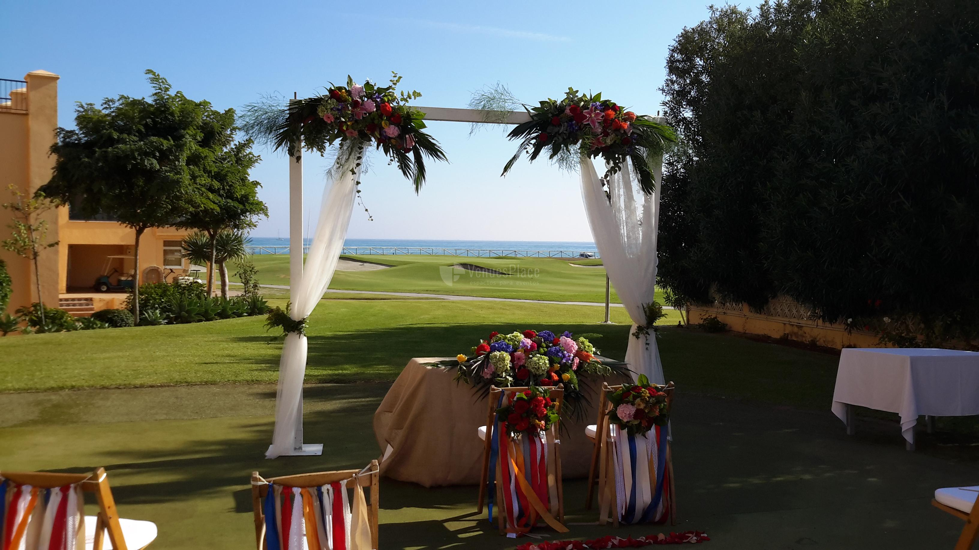 Montaje ceremonia civil Hotel Guadalmina Spa & Golf Resort  *****