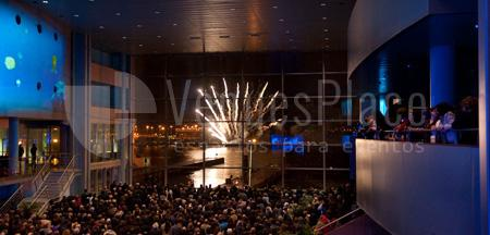 Increibles vistas desde el Auditorio Palacio de Congresos Mar de Vigo