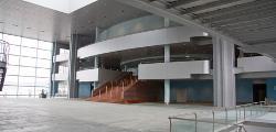 Imagen interior del Auditorio Palacio de Congresos Mar de Vigo