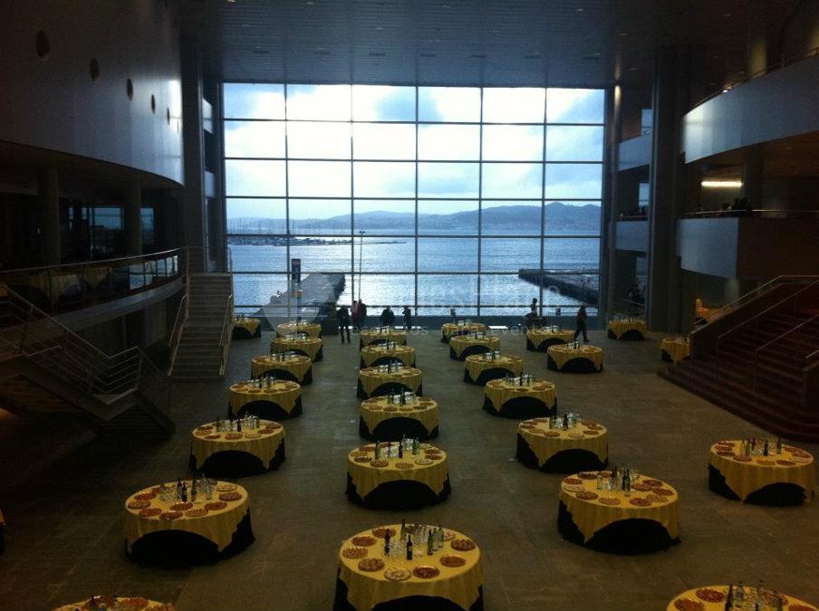 Foto banquete en Auditorio Palacio de Congresos de Vigo