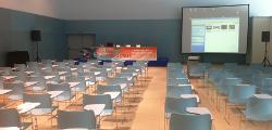 Montaje de evento empresarial en el Auditorio Palacio de Congresos Mar de Vigo