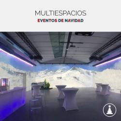Multiespacios: espacios originales para comidas y cenas de Navidad