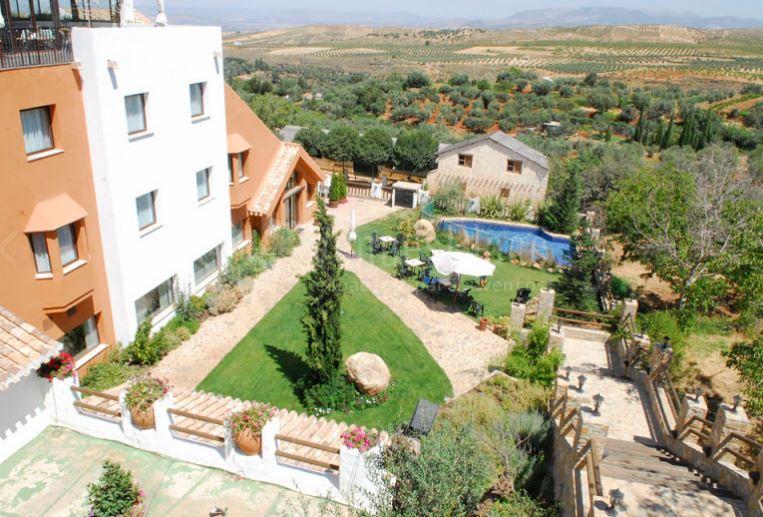 Eventos con vistas al campo y a la sierra en Hotel Zerbinetta