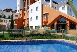 Vistas desde piscina de Hotel Zerbinetta.