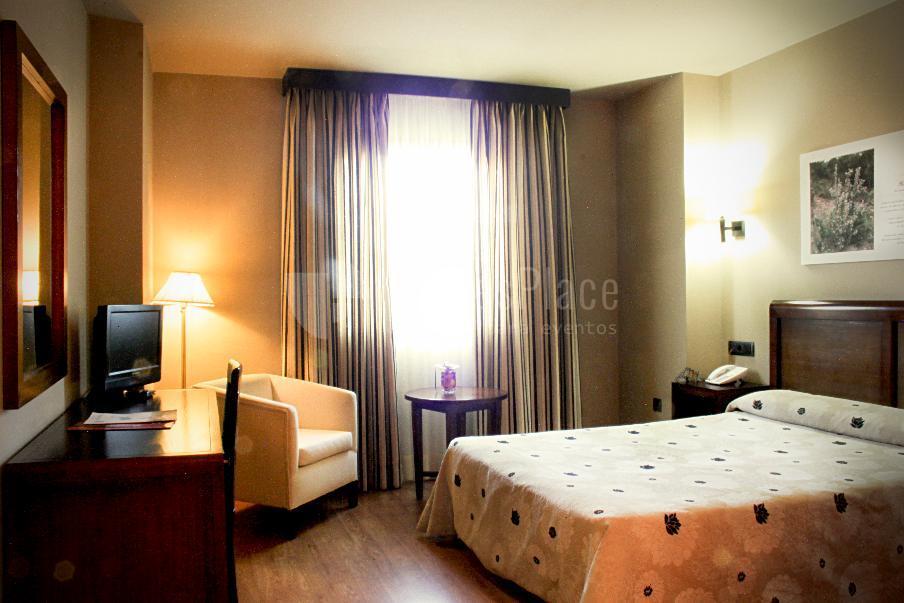 Habitación doble de Hotel Zerbinetta.