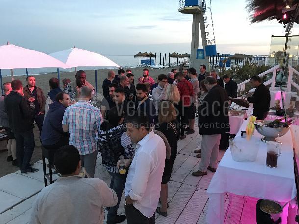 Montaje 9 en Horno Beach Club