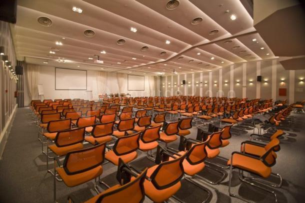 Montaje en teatro Euroforum Palacio de los Infantes