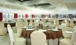 Montaje sala Hotel Ilunion Golf Badajoz