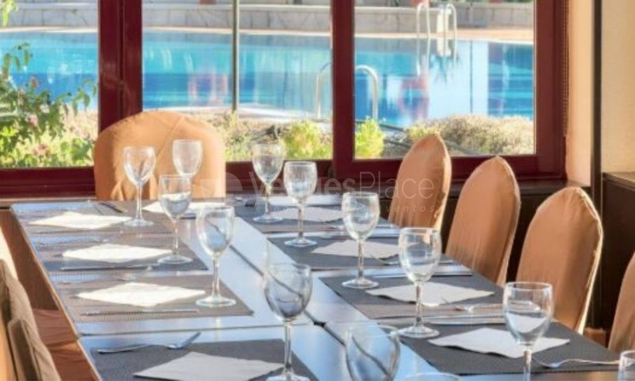 Interior Hotel Ilunion Golf Badajoz