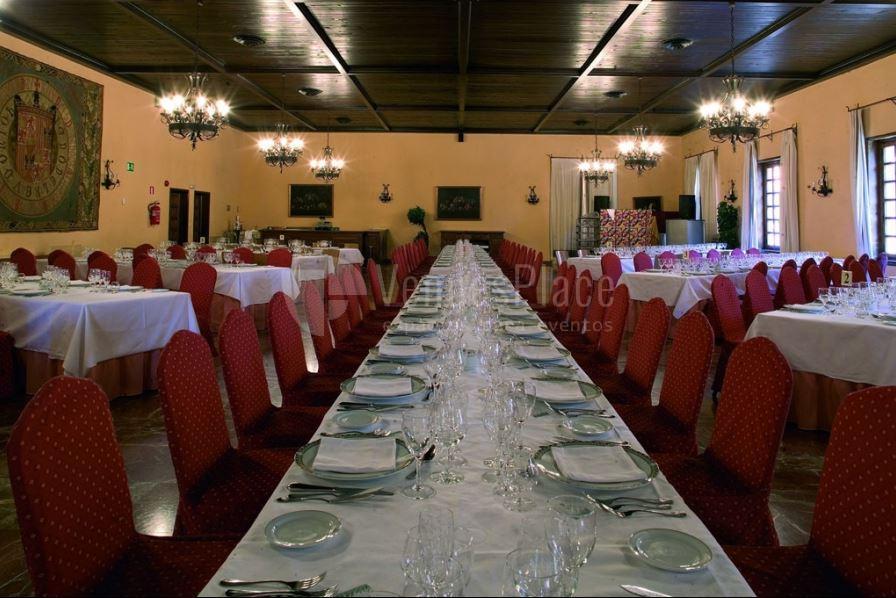 Restaurante para grupos en Parador de Tordesillas