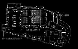 Auditorio: Zona Expositores 1 (plano general)