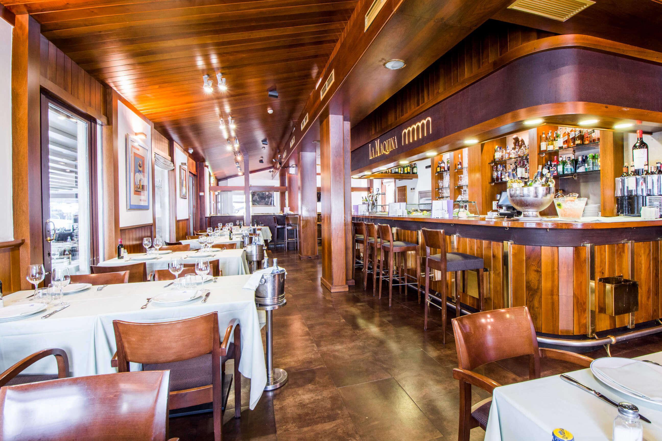 Comuniones y otros eventos familiares en Restaurante La Máquina de la Moraleja - Grupo La Máquina