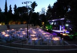 Anfiteatro para eventos en Finca Mas Solers