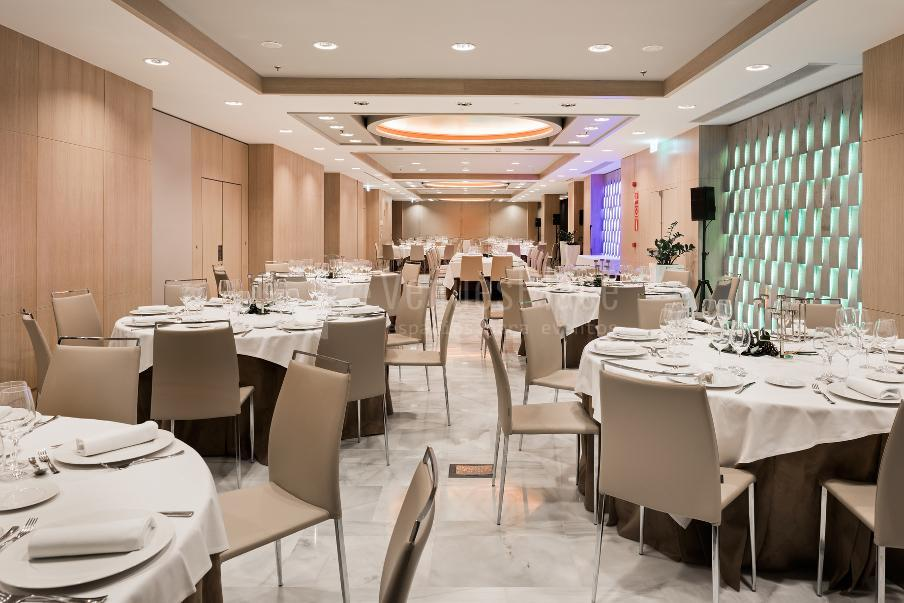 Salón Roma Banquete - NH Collection Madrid Eurobuilding