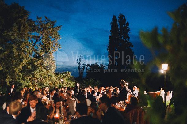 El Cortijo de Mónico celebraciones nocturnas