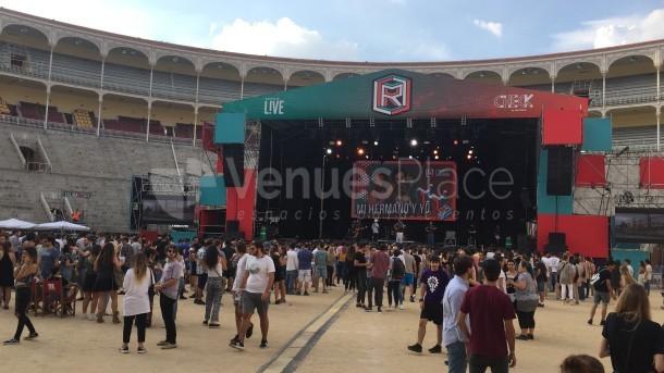 El Cielo de las Ventas en formato verano, para la producción de shows musicales