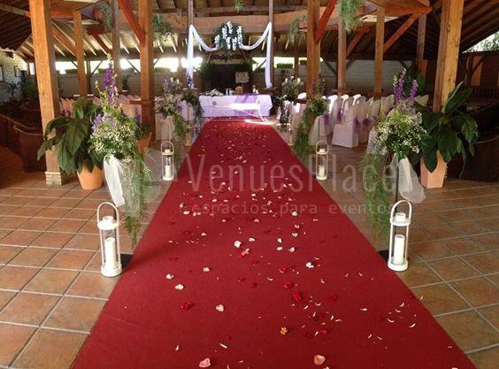 Complejo Mayerling montaje boda civil