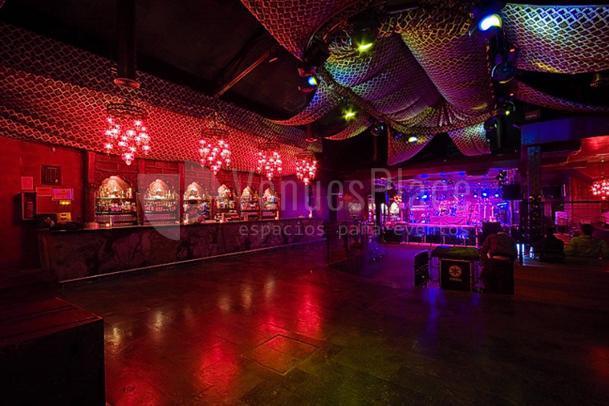 Interior Discoteca Kharma Eventos