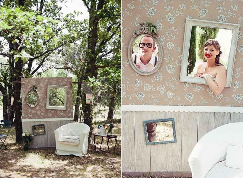 Detalles para una boda perfecta venuesplace for Photocall boda vintage