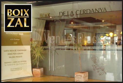 Catering Boix de la Cerdanya. Restaurante Boix Zal