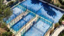 Pistas de padel y tenis