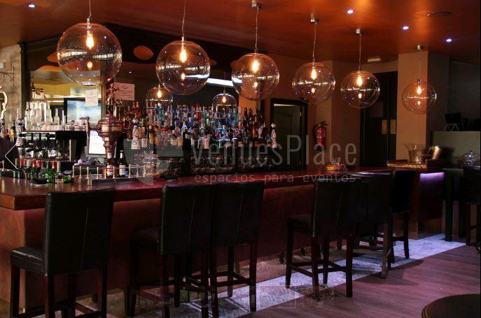 Interior para eventos en Cambridge Soho Club