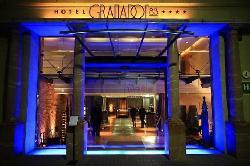 Entrada del Hotel Granados 83****