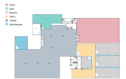 Plano sala Pamela