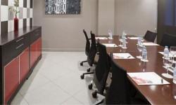 Montaje sala Hotel Ilunion Auditori