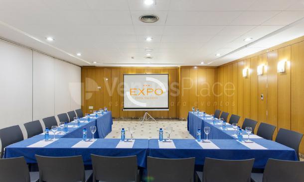 Formato U  en EXPO HOTEL VALENCIA