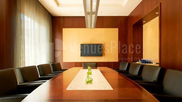 Mesa imperial reuniones de empresa, The Westin Valencia