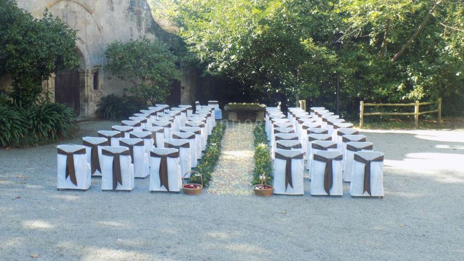 Montaje boda civil, será muy especial en Finca de San Juan Hostería & Catering