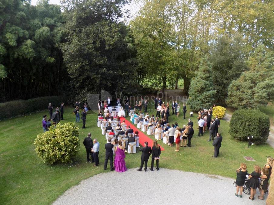 Montaje boda civil Finca de San Juan Hostería & Catering