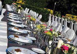 Eventos de empresa al aire libre en Finca de San Juan Hostería & Catering