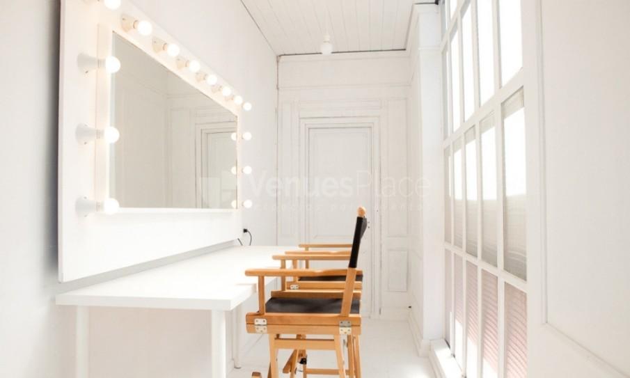 Habitación de maquillaje en Take loft BCN