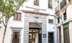 Exterior entrada Pestana Plaza Mayor