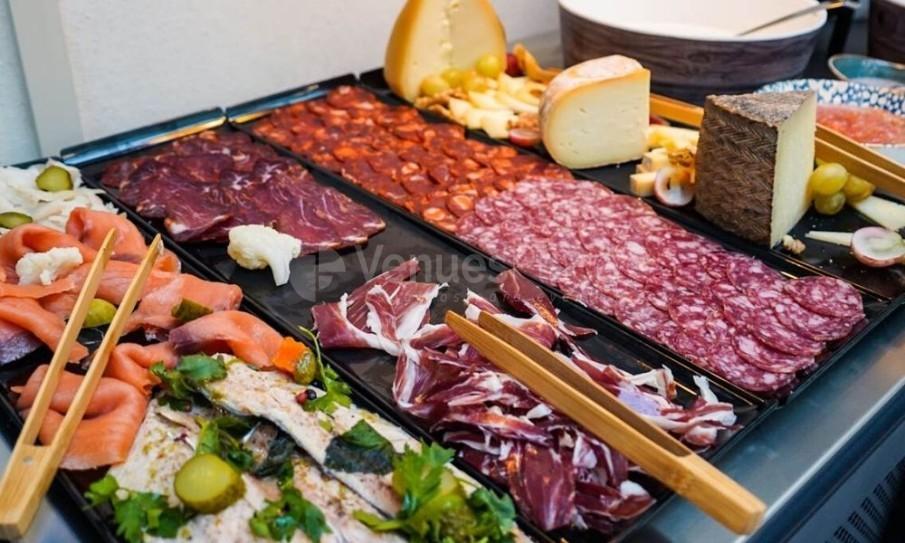 Montaje comida Pestana Plaza Mayor